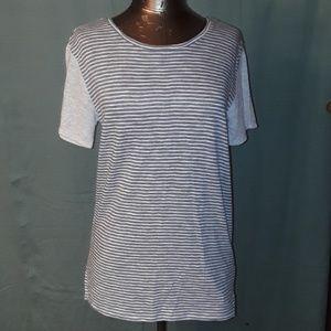 * Gap Contrast Short Sleeve T-Shirt April Stripe